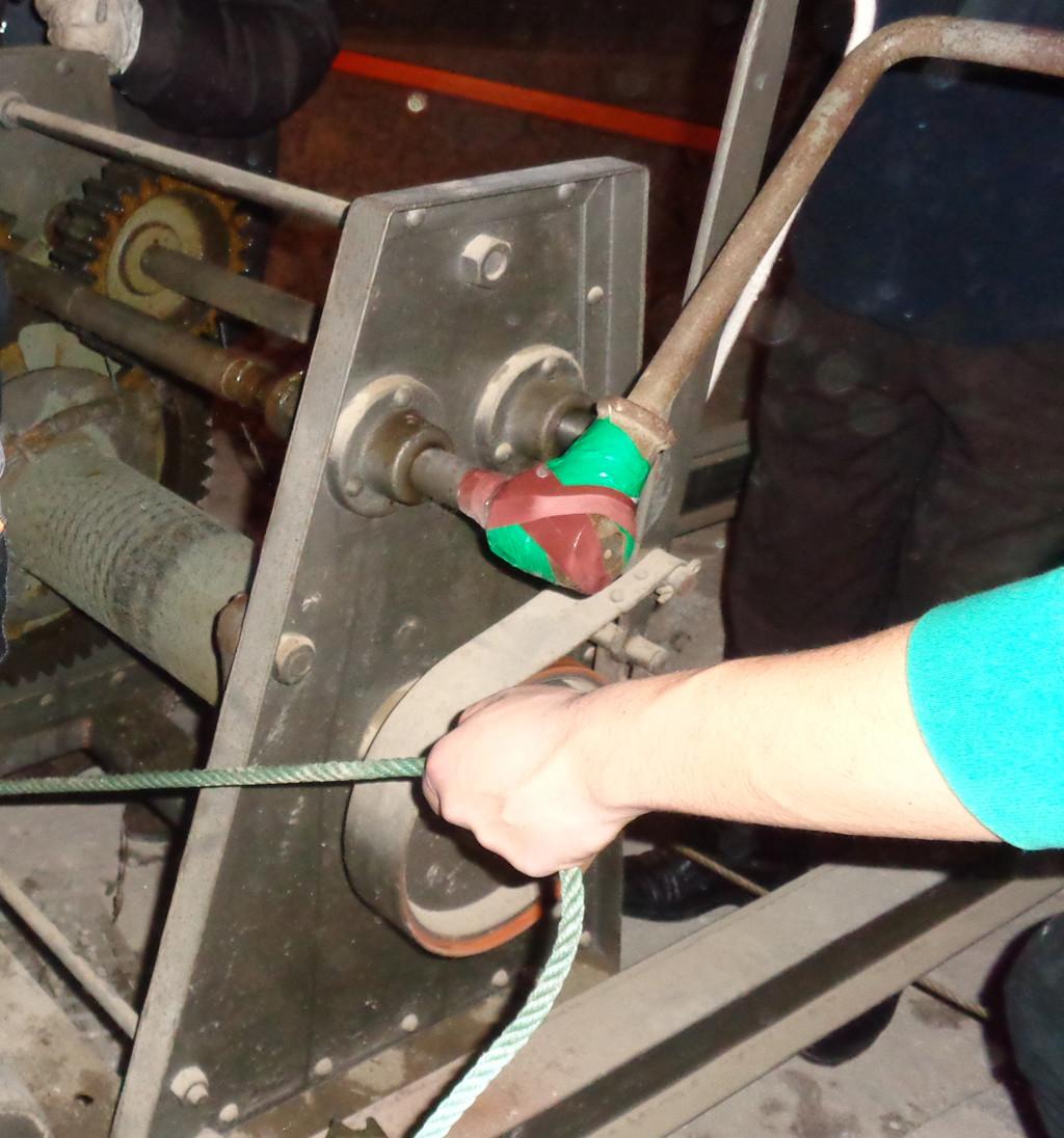 Maria Rufat canvi cable torn 2015